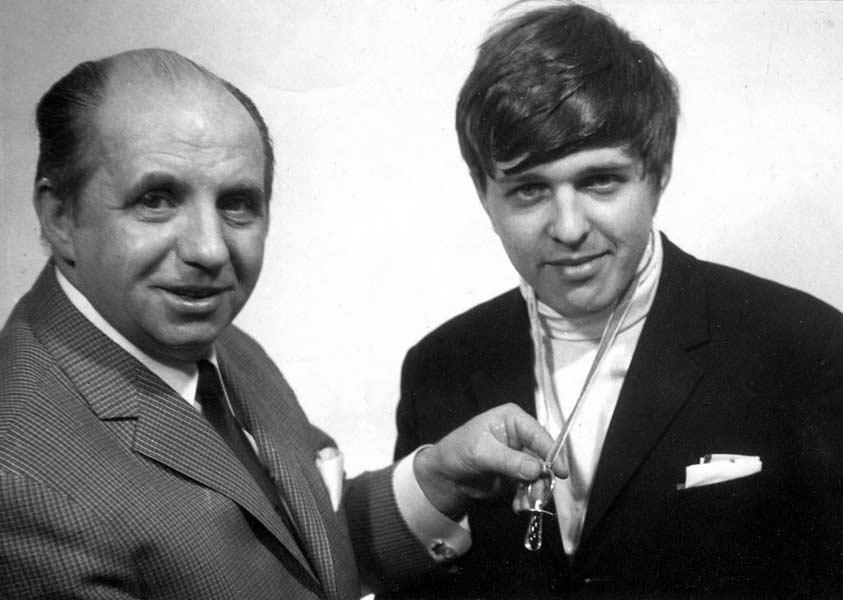 Tomáš Pergl s Karlem Vlachem