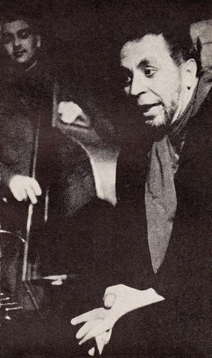Miroslav Horníček jako spisovatel Sommer