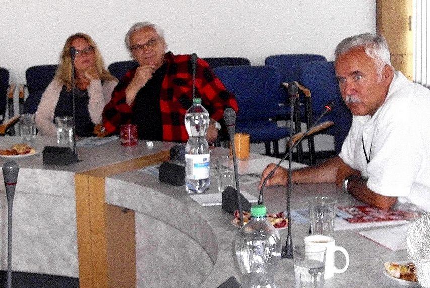 Setkání v Národním muzeu-Dr.Hanuš Jordan-Ondřej Suchý-Tereza Pokorná