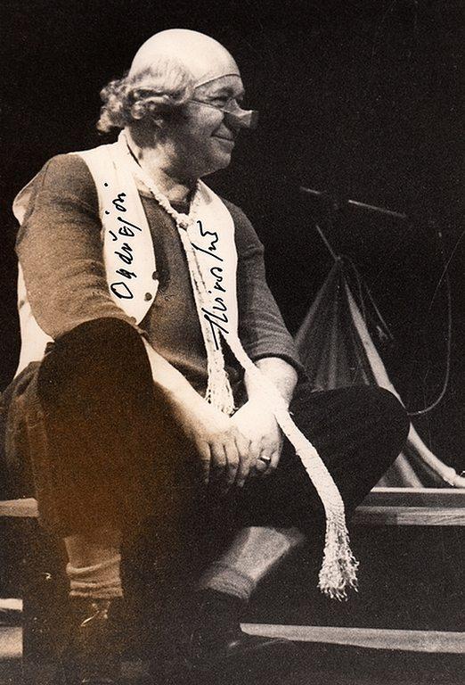 klaun Miroslav Horníček