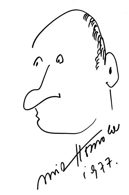 Toto je Homolův autoportrét