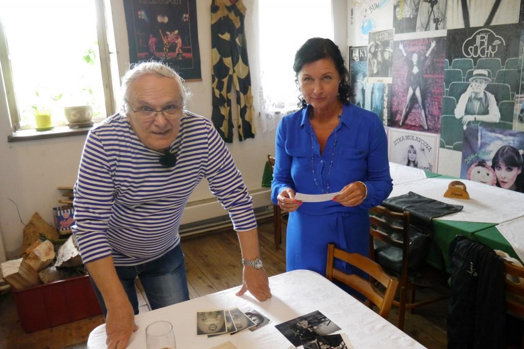 Ondřej Suchý a Simona Chytrová (Foto: archiv ČT)