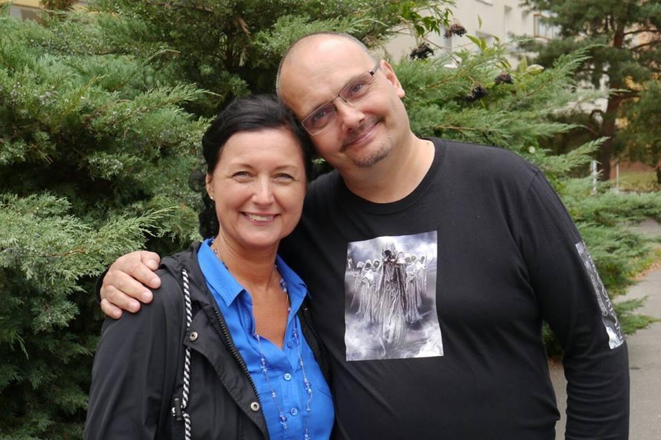 Marek Suchý a Simona Chytrová (Foto: archiv ČT)