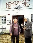 S Miroslavem Horníčkem při vážné debatě