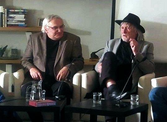 Setkání s Jurajem Jakubiskem v Knihovně Václava Havla v Praze